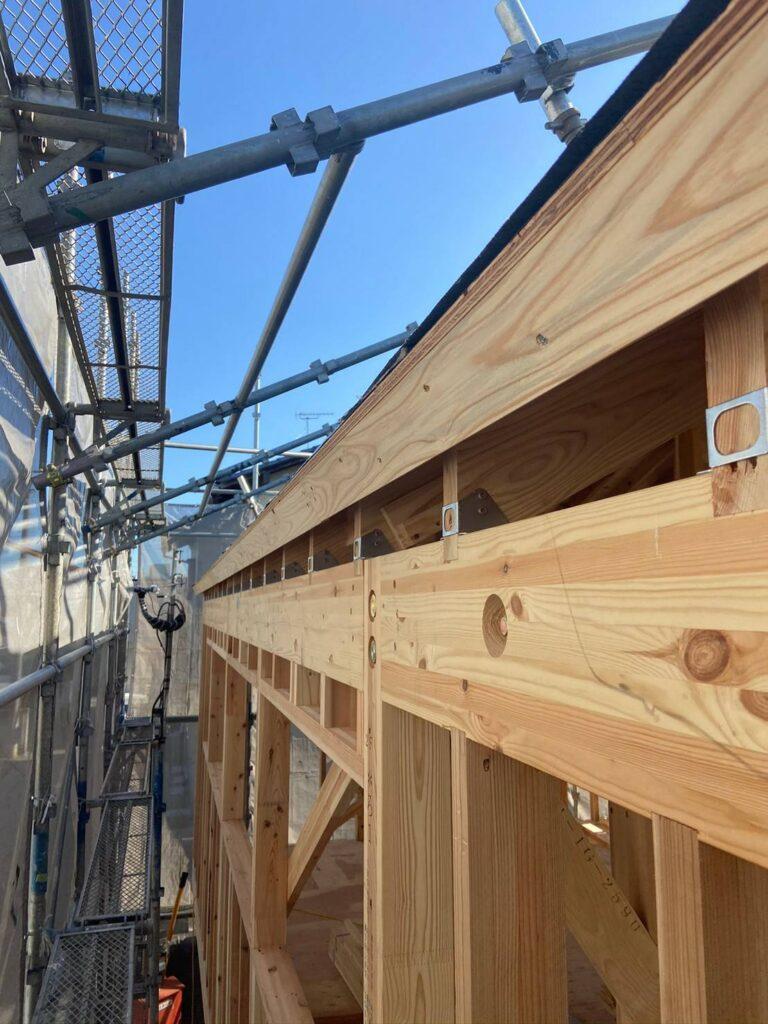 屋根工事と外壁のサイディング工事を行いました画像
